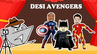 Desi Avengers Audition | Angry Director 4