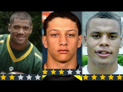 Every NFL Quarterback As High School Recruits