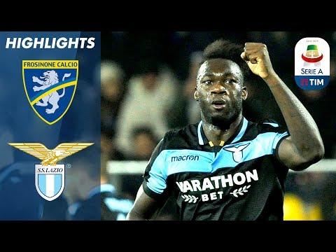Frosinone 0-1 Lazio   Caicedo Scores the Winner for Lazio!   Serie A
