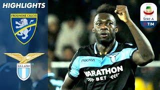 Frosinone 0-1 Lazio | Caicedo Scores the Winner for Lazio! | Serie A