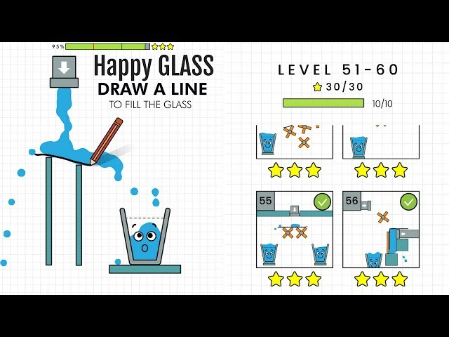 Happy Glass Level 51 to 60