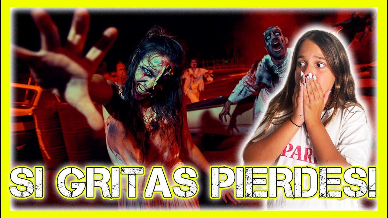 ¡SI GRITAS PIERDES! 🎃 ¡NO MIRES! ¡NO GRITES! #Terror #Misterty Paula Blanco