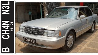 In Depth Tour Toyota Crown Royal Saloon 3.0 [S130] Facelift (1997) - Indonesia