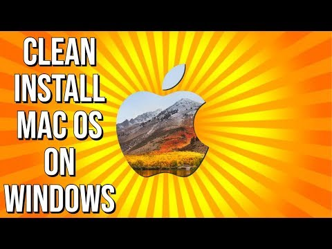 Clean Install macOS High Sierra On Windows 10 PC With VirtualBox