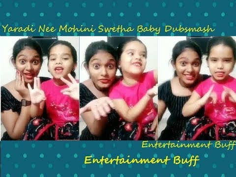 Yaradi Nee Mohini Vennila Swetha Baby Ruthra Dance   தமிழ்   Tamil Dubsmash   Tik Tok