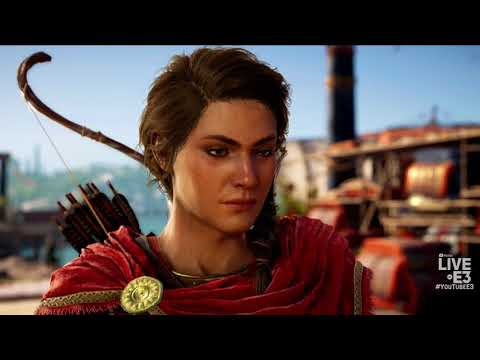 Assassin's Creed Odyssey Trailer and Gameplay Footage - Ubisoft E3 2018 Press Conference
