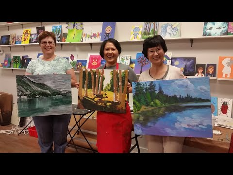 Art Classes for Teens & Adults at Winged Canvas Art Hub