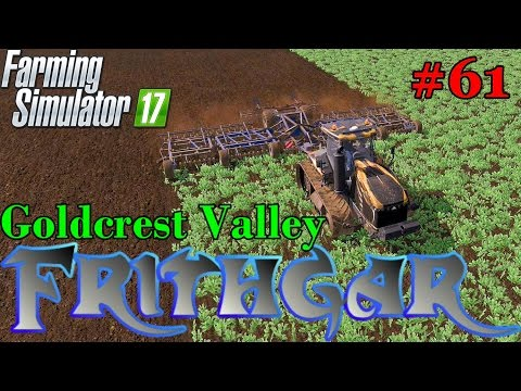 Let's Play Farming Simulator 2017, Goldcrest Valley #61: Cultivating Oilseed Radish!