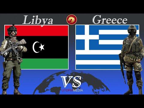 GREECE vs LIBYA military power comparison 2020