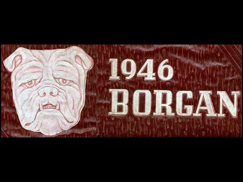 1946 Borger High School yearbook: The Borgan
