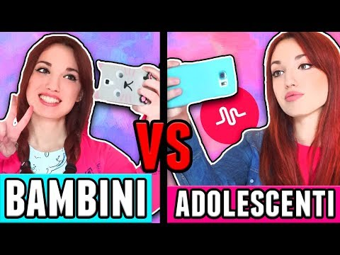 Bambini VS Adolescenti su Musically