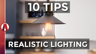 10 Tips For Realistic Lighting | Vray For Sketchup
