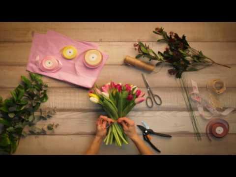букеты 8 из тюльпанов марта фото