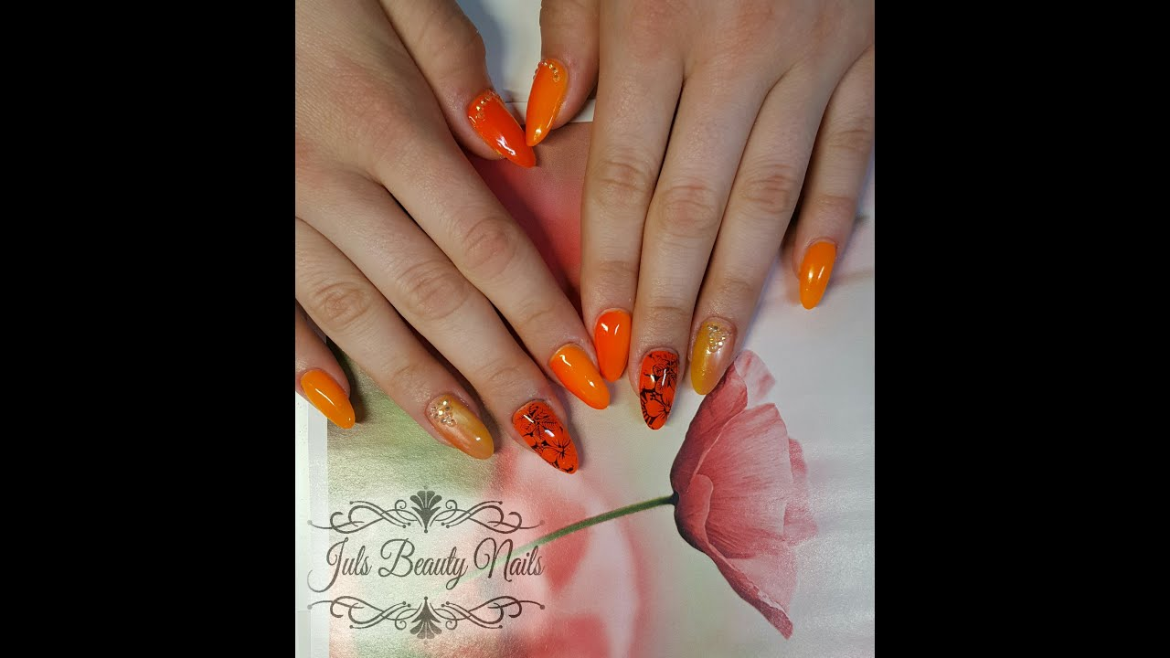 Sommerwoche - Summer Nails 2016 Neon - Cats Eye Design - Gelnägel ...