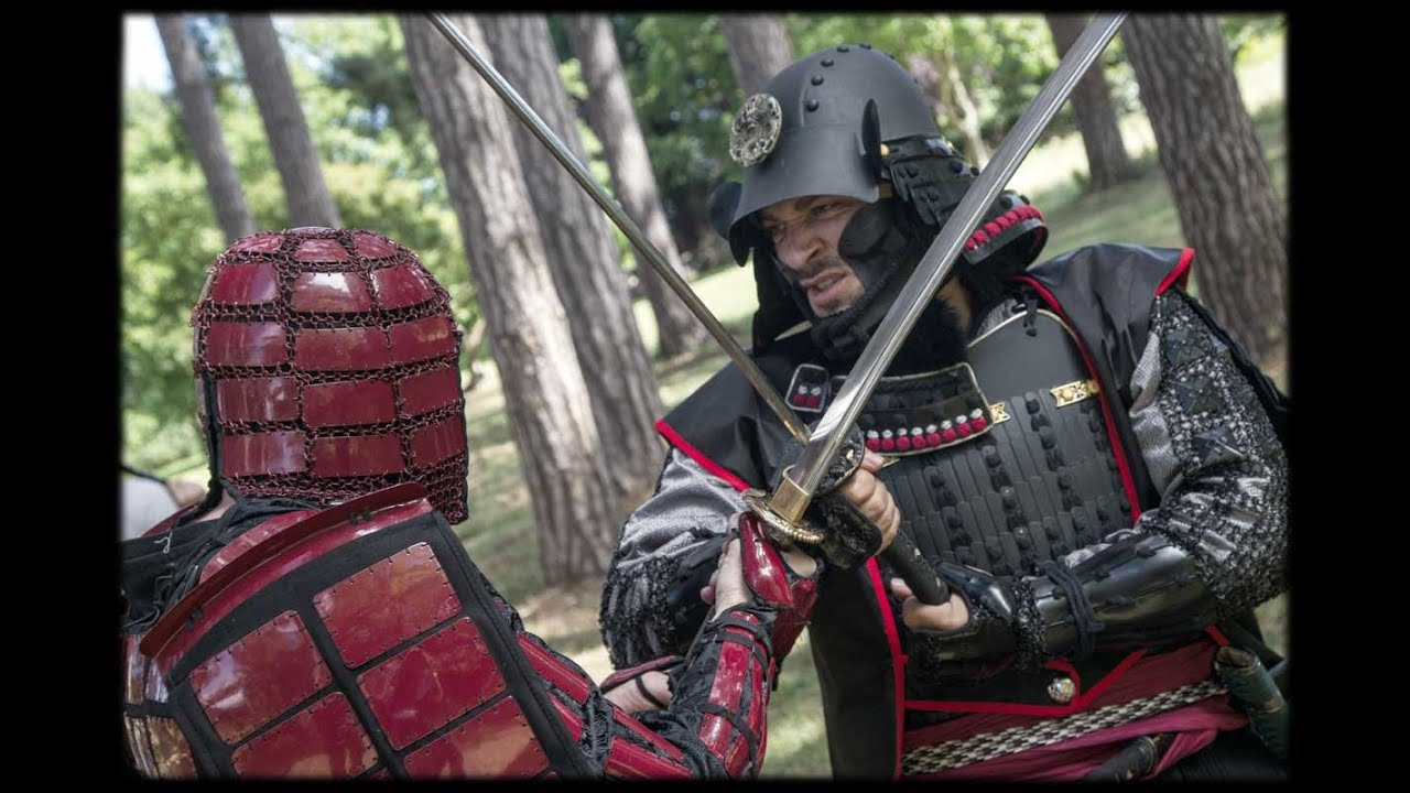 iron mountain armory samurai armor combat and weapons testing