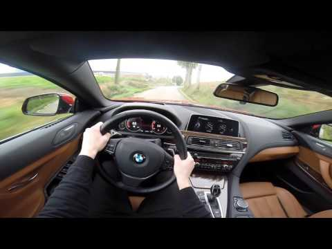 2015 BMW 6 Series 650i Convertible 449HP POV Test Drive GoPro
