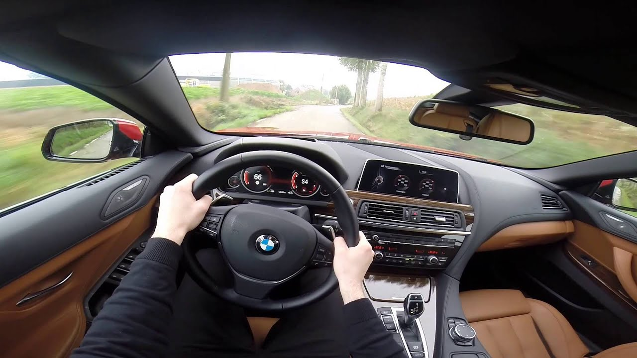 2015 Bmw 6 Series 650i Convertible 449hp Pov Test Drive