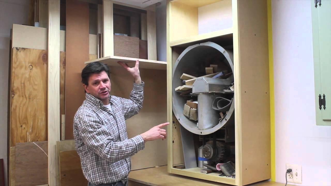 Wood Shop Organization Make Shelving And Cabinet