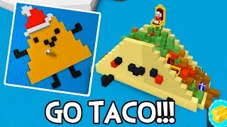 ROBLOX BUILD A BOAT FOR TREASURE | GO TACO & DORITO!