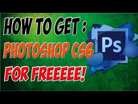 How To Get Photoshop CS6 For Free Windows 7+ ( NO VIRUSES )