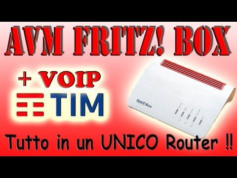☎️📞VideoTutorial - Come Configurare il VoIP TIM su Router Fritz!Box (4K - UHD)📞☎️