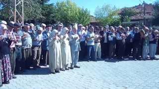 narlı kasabası halil - meryem aydın & ayşe uysal hac uğurlaması