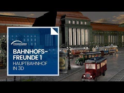 Bahnhofsfreunde 1 – Die 3D-Künstler - Kurzdoku zum Hauptbahnhof Leipzig