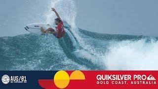 Joel Parkinson's Near Perfect Wave in Round Three - Quiksilver Gold Coast 2017