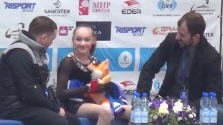 2017 Russian Jr Nationals - Anna Tarusina SP