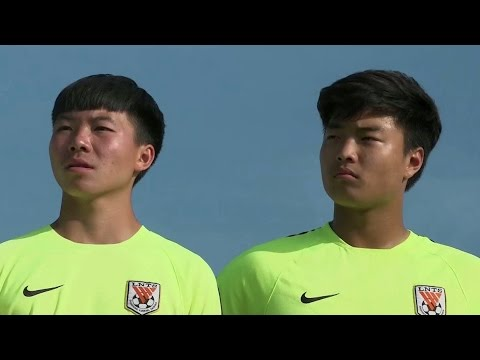 Chinese football team hopes to improve skills by training in Brazil
