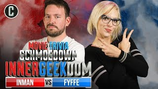 Jason Inman VS Emma Fyffe - Movie Trivia Schmoedown Innergeekdom Qualifier