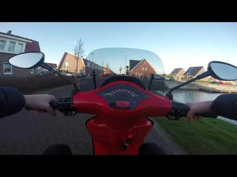 Vespa Sprint 50cc 4t 4v - GoPro 3+ Black Footage.