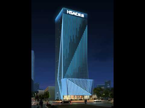 building facade lighting and decoration designbuilding designeffect display building facade lighting