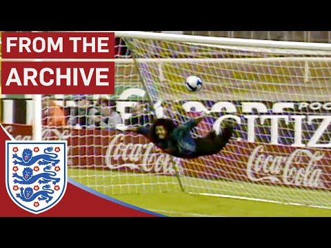 Goalkeeper René Higuita's Incredible Scorpion Kick | From The Archive