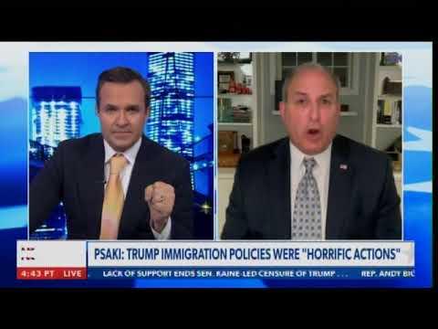 Director of US Border Protection Mark Morgan Blasts Biden Hack Jen Psaki for Lying About Border Kids