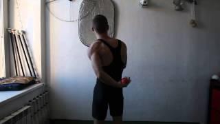 #42. Из-за спины 3М (видео уроки по жонглированию от ПГ)