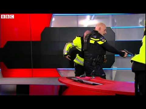 Gunman arrested at Dutch news broadcaster NOS