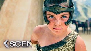 WONDER WOMAN 1984 Opening Scene & Trailer (2020)