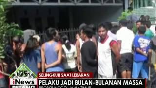 Selingkuh saat lebaran, seorang pria di Probolinggo jadi bulan-bulanan warga - iNews Petang 07/07
