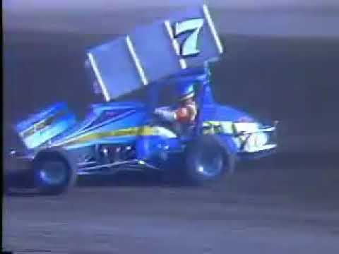 Mike Sargent - San Jose Speedway - (1988) - Qualifying