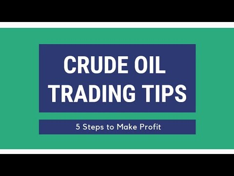 CRUDE OIL -BEST 5 STEP TO TRADE CRUDE OIL|MCX|TRADER'S CLUB