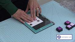 Hampton Art: Stamp Perfect Video + Layering Stamps