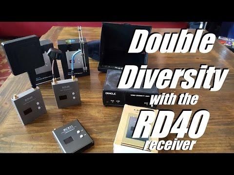 RD40 Diversity Video Receiver from Banggood