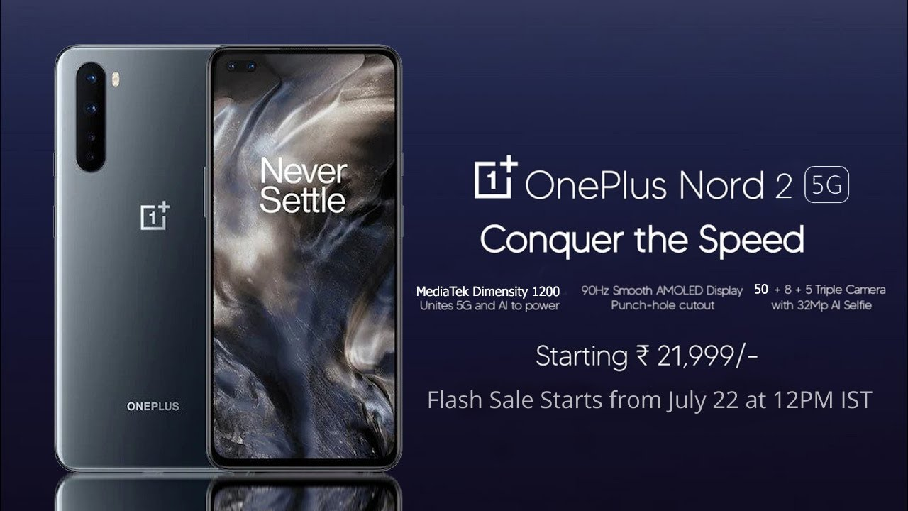 Download OnePlus Nord 2 5G: Budget Killer | Dimensity 1200 | 50MP Sony Camera | Price In India | Release Date