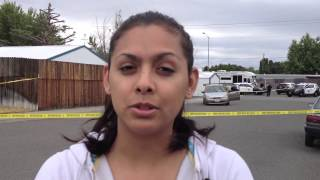 Witness at Kennewick shooting sccene