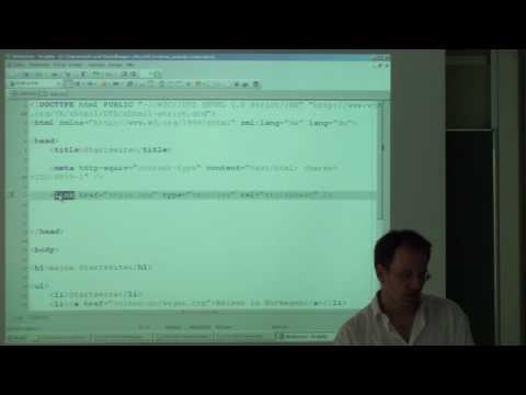 CSS In HTML-Seite Integrieren (in Komplette Website) - Lösung Zur Aufgabe Vom Letzten Video
