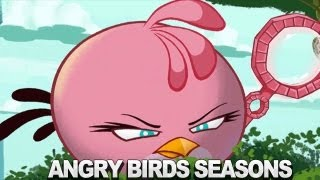 Repeat youtube video Angry Birds Seasons  Meet the Pink Bird