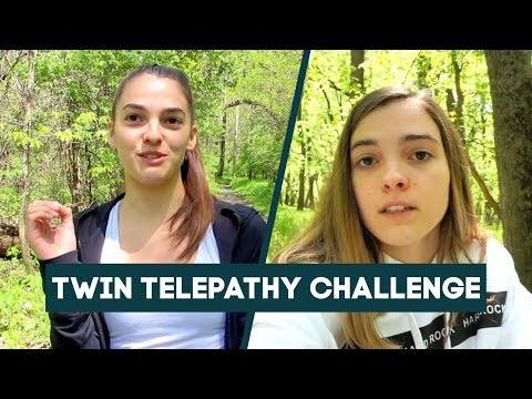 Can Identical Twins Find Each Other Without Communicating? | Twin Telepathy Challenge