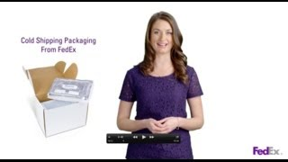 Cold Shipping Packaging Provided by FedEx thumbnail