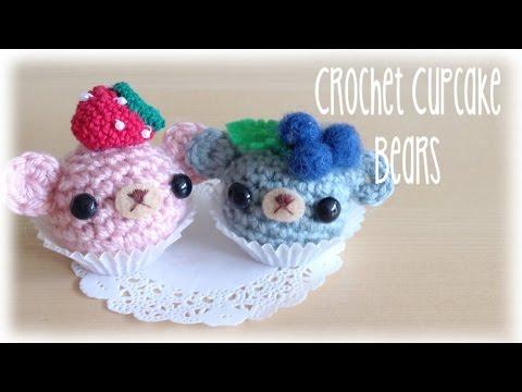 Kawaii Amigurumi Cupcake Keychain : Crochet owl ornament/Key chain tutorial FunnyCat.TV